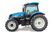 New Holland TS135A tractor photo