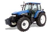 New Holland row-crop TM120 tractor photo
