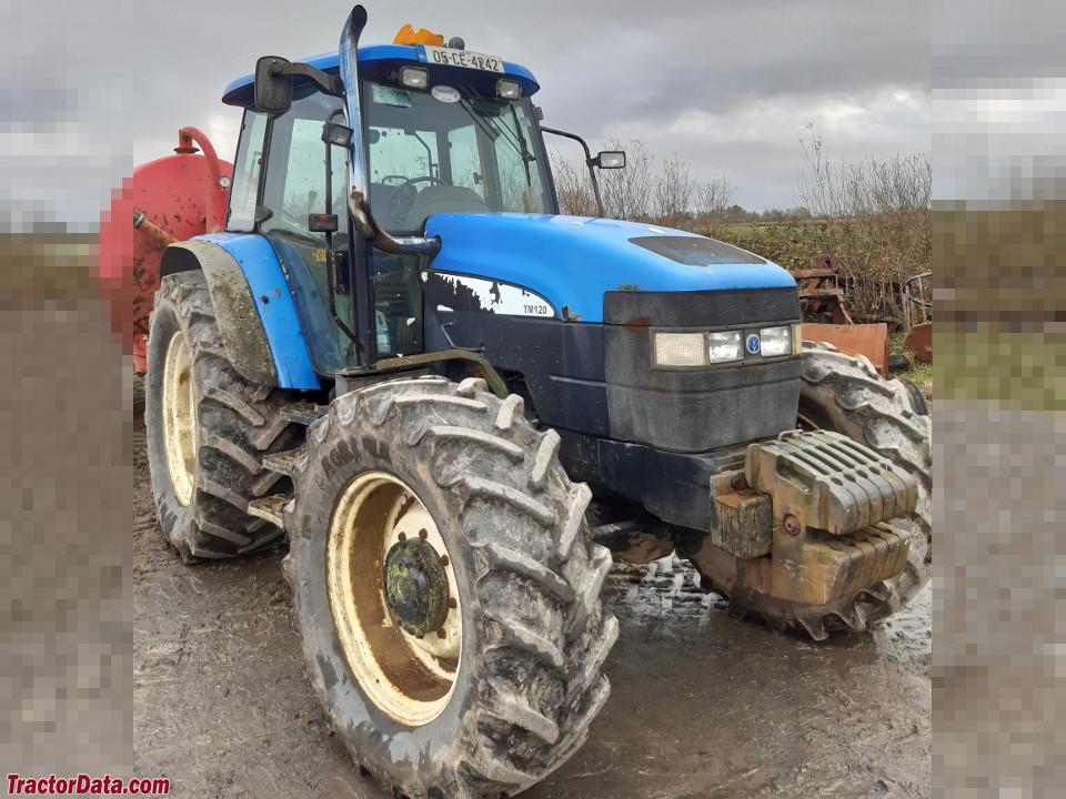 New Holland row-crop TM120