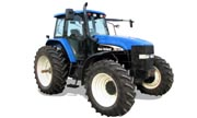 New Holland row-crop TM175 tractor photo