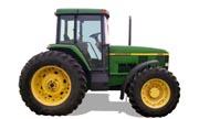 John Deere 7410 tractor photo