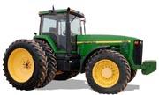 John Deere 8100 tractor photo