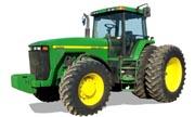 John Deere 8400 tractor photo