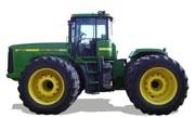 John Deere 9100 tractor photo