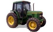 John Deere 6210 tractor photo