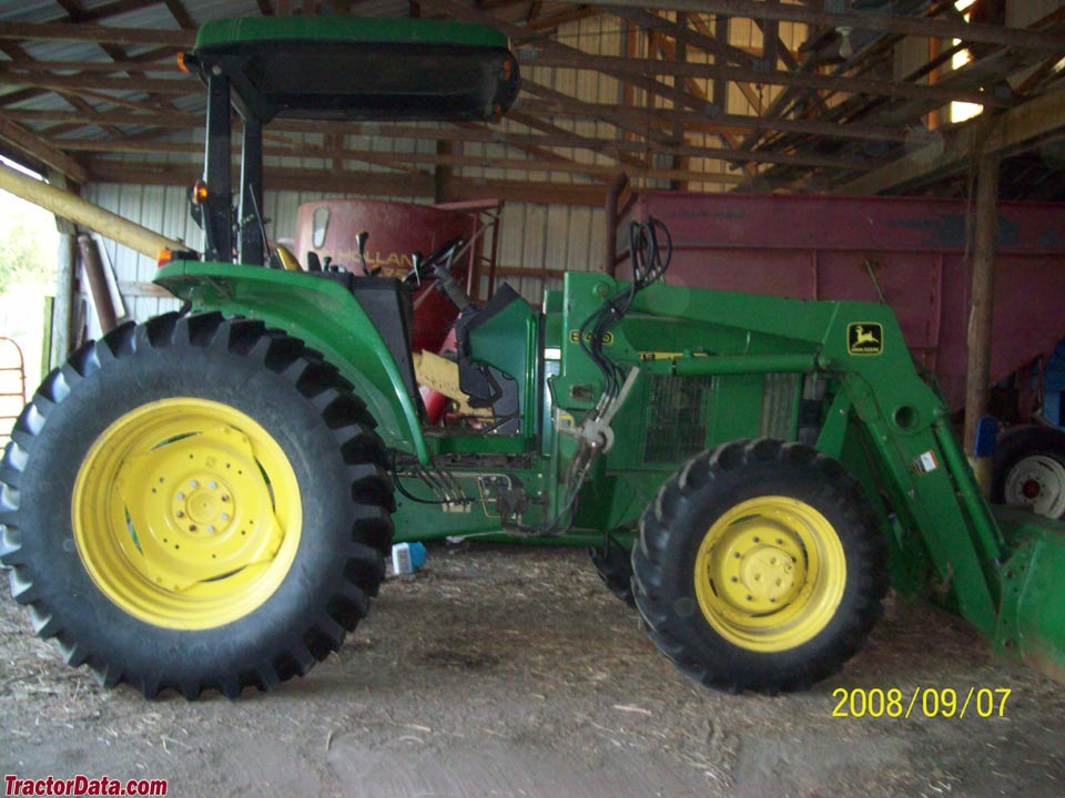 John Deere 6405 with model 640 loader.