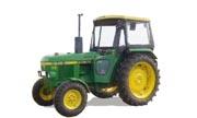 John Deere 1040 tractor photo