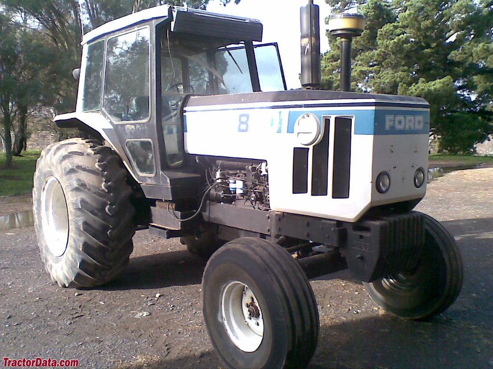 Ford model 8401 tractor.