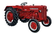 International Harvester D-320 tractor photo