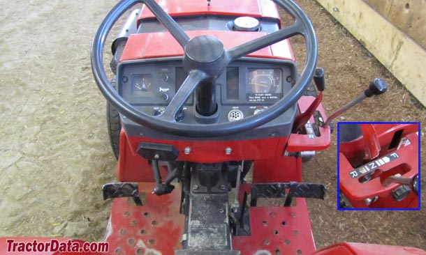 International Harvester 234  transmission photo