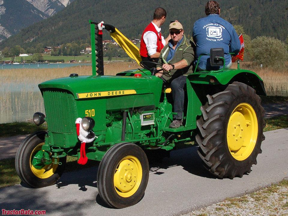 John Deere model 510 tractor