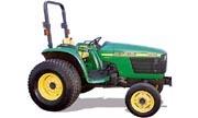 John Deere 4600 tractor photo