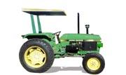 John Deere 1550 tractor photo