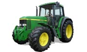 John Deere 6610 tractor photo