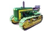 John Deere 420C tractor photo