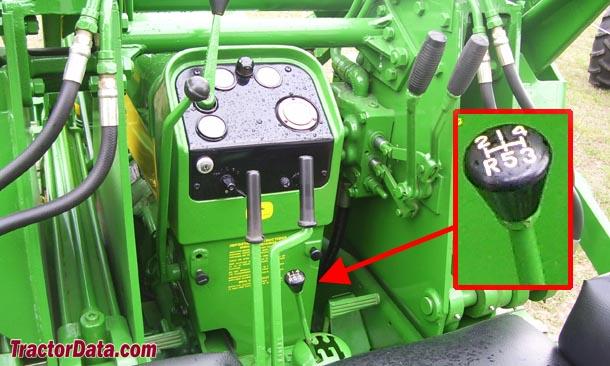 John Deere 430C  transmission photo