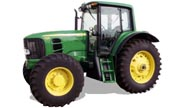 John Deere 7330 tractor photo