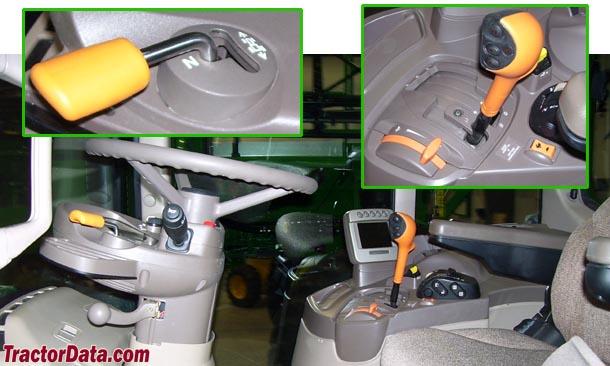 John Deere 7430 Premium AutoQuad Plus transmission photo