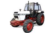 David Brown 1490 tractor photo