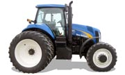 New Holland T8030 tractor photo