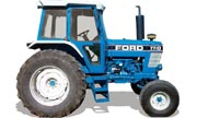 Ford 7710 tractor photo