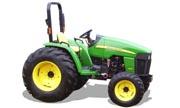John Deere 4105 tractor photo