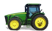 John Deere 8245R tractor photo