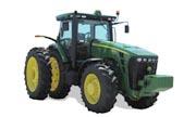John Deere 8320R tractor photo