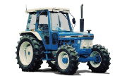 Ford 7810 tractor photo