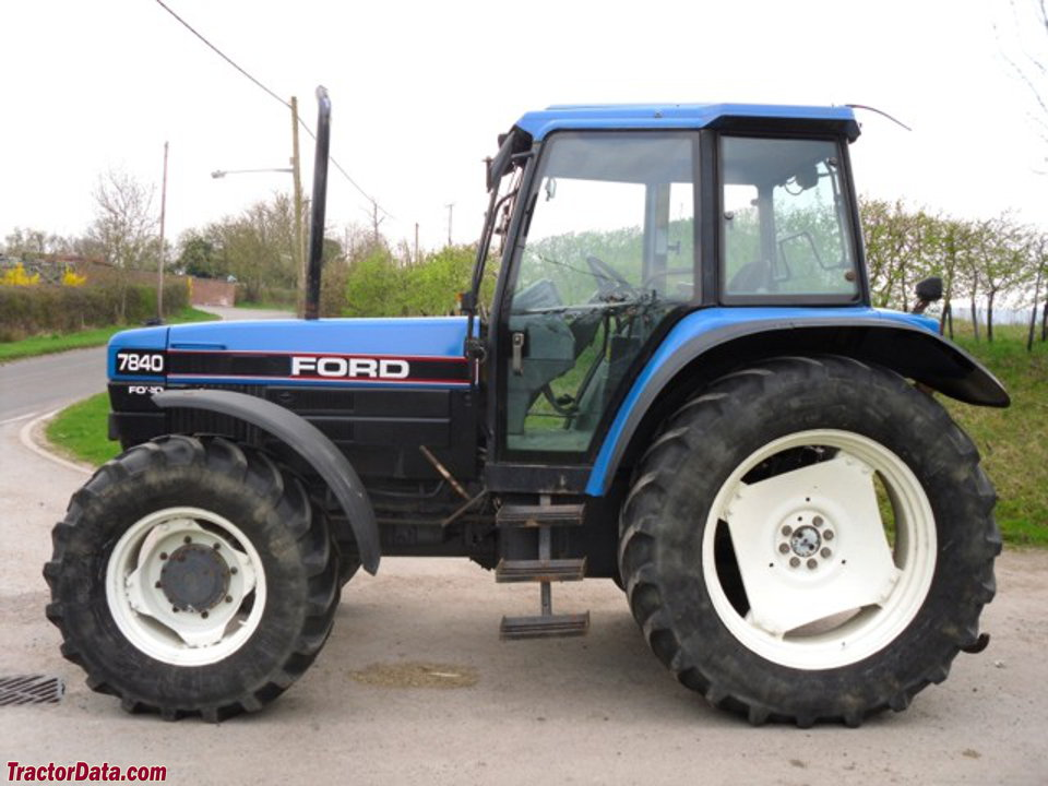 Ford 7840, right side.