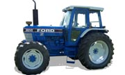Ford 8210 tractor photo