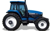 Ford 8670 tractor photo