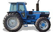 Ford 8730 tractor photo