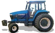 Ford 8770 tractor photo