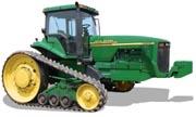 John Deere 8310T tractor photo