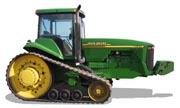John Deere 8410T tractor photo
