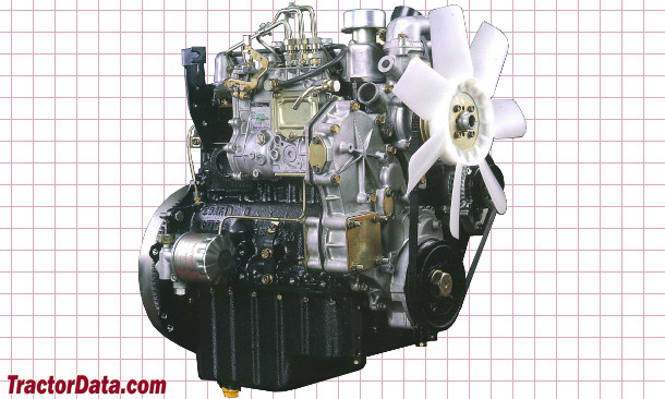 Iseki TU257  engine photo