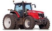 Massey Ferguson 8670 tractor photo