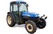 New Holland TN75FA tractor photo