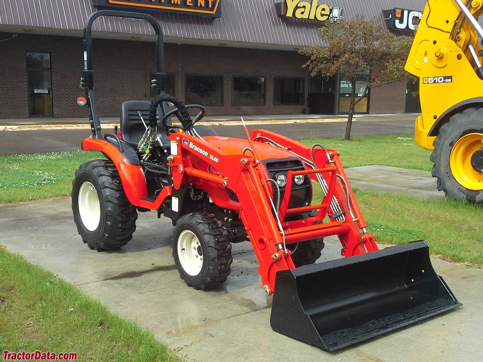 Branson 2400h with SL00 front-end loader.