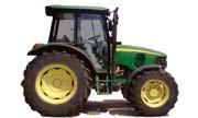 John Deere 5820 tractor photo