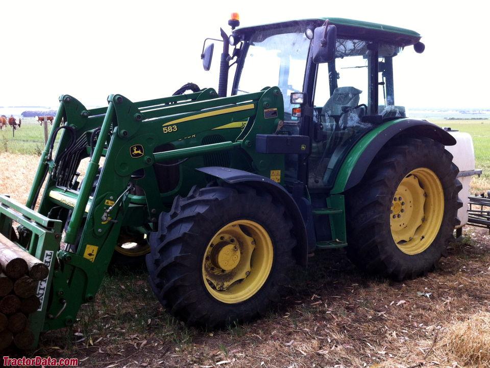John Deere 5100R with 583 loader.