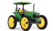 John Deere 5525 Hi-Crop tractor photo