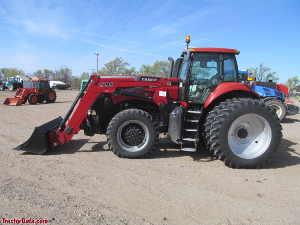 Case IH Magnum 235 with L795 front-end loader.