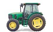 John Deere 6110D tractor photo