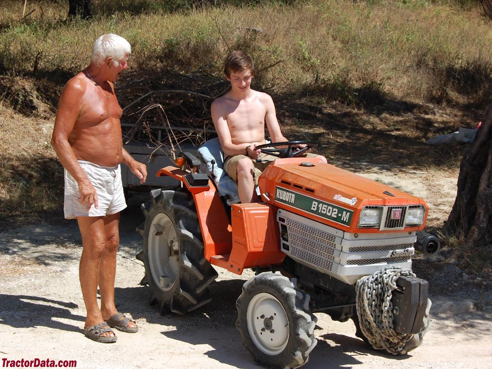 Kubota B1502M in Greece