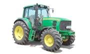 John Deere 6630 tractor photo
