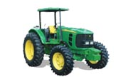 John Deere 6125E tractor photo
