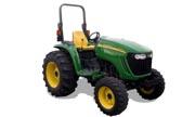 John Deere 4520 tractor photo