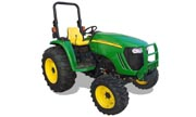 John Deere 4720 tractor photo